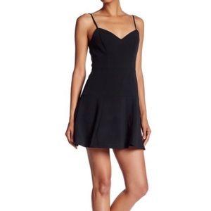 Black Halo mini black dress NWT